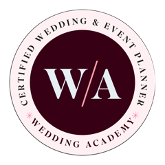 Certified Wedding and Event Planner